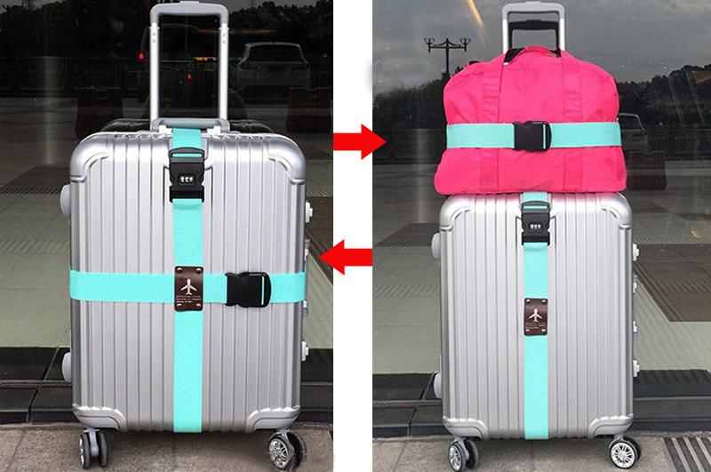 Heavy duty colorful stylish design luggage straps suitcase belt ...